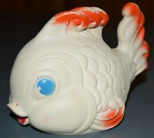 1950 s edward mobley rubber toy fish