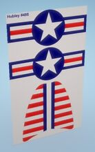 hubley wing tail decals for diecast navy