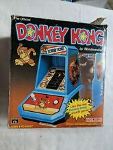 coleco donkey kong table top arcade game