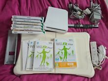 wii fit wii console bundle games