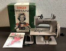 toy sewing machine singer sewhandy 20 hand cranked usa