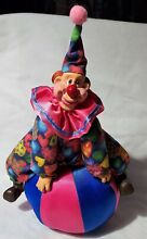 russ berrie cosmo co inc goofy clown on a ball