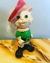 ussr puss in boots rubber toy doll