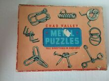 chad valley metal puzzles boxed