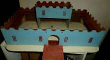 1960 fortress castle toy s blue red see