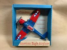 hubley american eagle airplane by scale