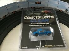 tomy afx aurora ford mustang blue