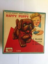 battery operated happy puppy made