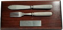 titanic gifts mounted knife fork third