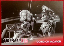 fireball xl5 base card 23 going on vacation