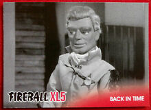 fireball xl5 base card 29 back in time gerry