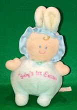 russ berrie baby s 1st easter plush doll baby