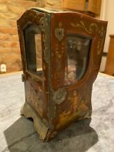 mignonette french tole sedan chair french