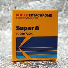 New Kodak Super8 Ektachrome 100d