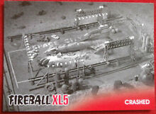 fireball xl5 base card 34 crashed gerry anderson
