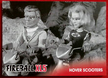 fireball xl5 base card 28 hover scooters gerry