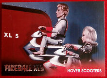 fireball xl5 foil chase card f1 hover scooters