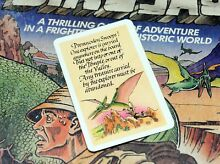 waddingtons lost valley dinosaurs spare adventure card boardgame