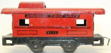 american flyer pre war 1127 tin lithographed red