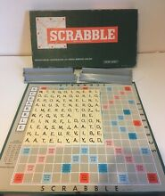 scrabble 1960 s board game spears gaming