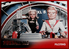 fireball xl5 foil chase card f2 piloting gerry