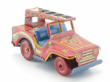 penny toy hadson fire engine jeep leiter