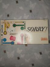 sorry game 1964 sorry board game