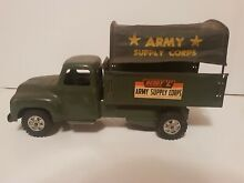 army men buddy l army supply corps toy truck