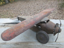 steelcraft 1920 s 1930 s airplane for parts