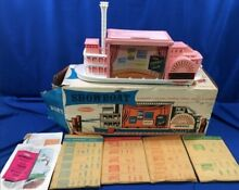 remco 1960 s showboat play theatre set w