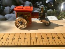 penny toy tin plate clockwork steam roller