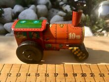 penny toy tin plate friction steam roller