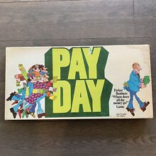 pay day game 1975 pay day board game by parker