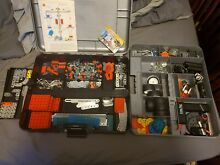 steel tec erector building toy 11 pounds
