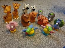 little people fisher price 13 ark zoo animals