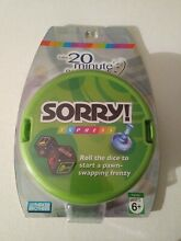 sorry game sorry dice game express game hasbro