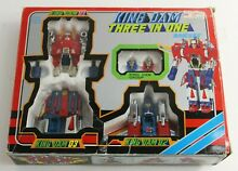 diaclone king dam three in one daicast toy