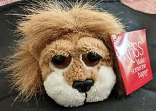 russ berrie carnie lion small plush toy 5 new