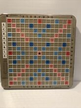 scrabble 1982 deluxe turntable base only