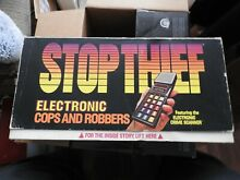 go for it parker parker brothers stop thief game