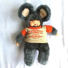 russ berrie 1979 luv pet plush doll moppy mouse