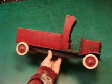 harris 16 wooden toy truck toy mfg out