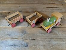 wooden toy train old