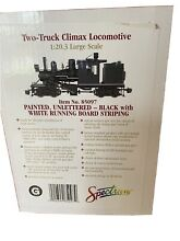 bachmann spectrum g scale two truck climax