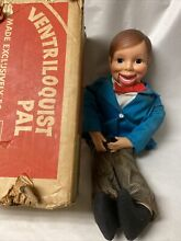 ventriloquist sears pal doll dummy puppet orig in