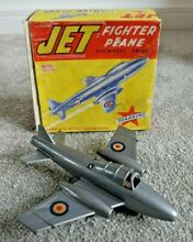 1950 mettoy jet fighter plane s friction
