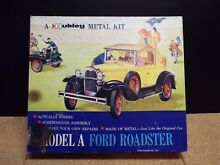 hubley ford model a roadster diecast metal