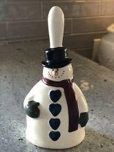 russ berrie holiday snowman bell country home 3