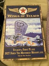 texaco wings first plane 1927 ford tri