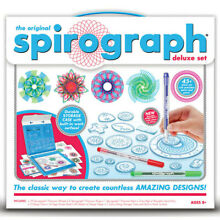 spirograph 48 piece original deluxe set kids